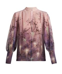 Mary Katrantzou | Flame Fantasiacopy-Print Silk Blouse