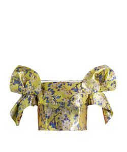 Delpozo | -Print Off-The-Shoulder Cropped Top
