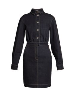 Stella Mccartney | Annamaria Point-Collar Denim Dress