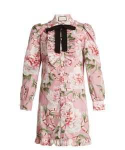 Gucci | -Print Stretch-Cotton Shirtdress