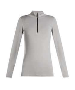 THE UPSIDE | Ana Zip-Fastening Stretch Top
