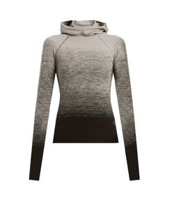 PEPPER & MAYNE | Hooded Ombré Compression Performance Top