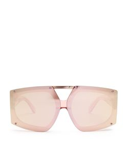 KAREN WALKER EYEWEAR | Salvador Shield-Frame Sunglasses
