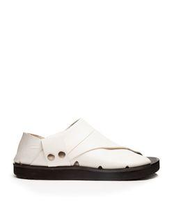 Joseph | Collapsible-Heel Leather Flat Sandals