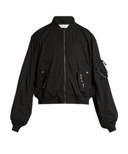 Damir Doma | Ring-Detail Oversized Cotton Bomber Jacket