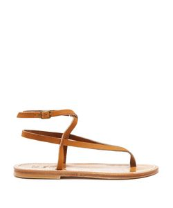 K. Jacques | Delta Wraparound Leather Sandals