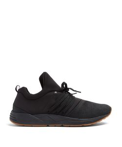 ARKK COPENHAGEN | Raven S-E15 Low-Top Nubuck-Leather Trainers
