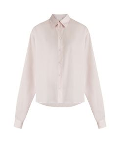 MM6 by Maison Margiela | Point-Collar Pinstriped Cotton Shirt