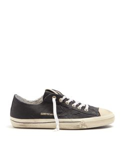 Golden Goose | V-Star Low-Top Leather Trainers
