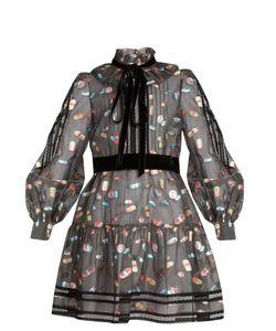 Marc Jacobs | Ruffled-Collar Fil Coupé Mini Dress