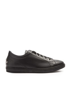 Jimmy Choo   Ace Low-Top Leather Trainers