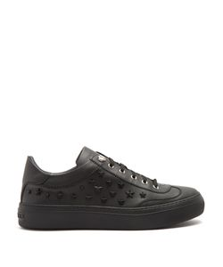 Jimmy Choo | Ace Star-Appliqué Low-Top Leather Trainers