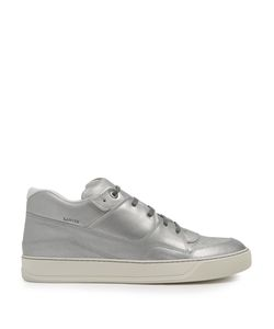 Lanvin | Mid-Top Leather Trainers