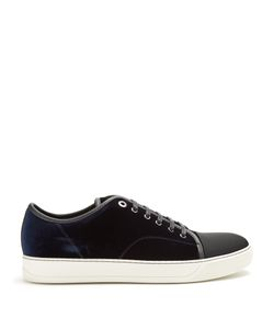 Lanvin | Velvet Low-Top Trainers