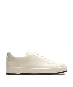 Bottega Veneta | Thibo Leather Low-Top Trainers