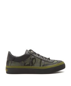 Jimmy Choo | Ace Camouflage-Print Low-Top Trainers