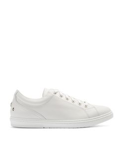 Jimmy Choo | Cash Low-Top Leather Trainers
