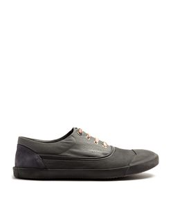 Lanvin | Low-Top Canvas And Rubber Trainers