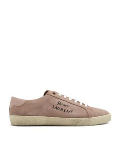 Saint Laurent | Court Classic Low-Top Suede Trainers