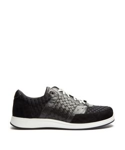 Bottega Veneta | Leather And Suede Low-Top Trainers