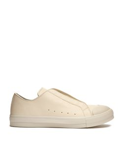 Alexander McQueen | Contrast-Toe Low-Top Leather Trainers