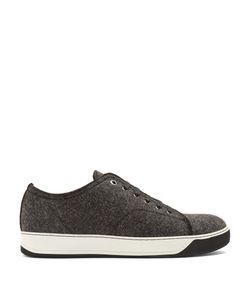 Lanvin | Lace-Up Wool Low-Top Trainers
