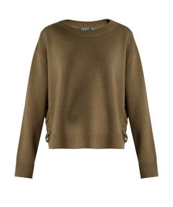 Vince | Lace-Up Side Cashmere Sweater