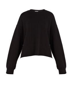 RAEY | Raw-Hem Cotton-Jersey Sweatshirt