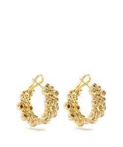 MAURIZIO PINTALDI | Sapphire Tsavorite Earrings
