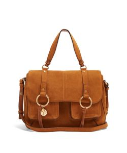 See By Chloe | Satchel Medium Suede Cross-Body Bag