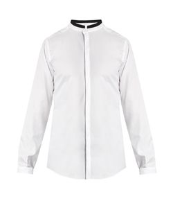 Dolce & Gabbana | Mandarin-Collar Cotton Shirt