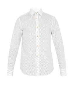 Paul Smith | Aeroplane-Print Cotton-Poplin Shirt