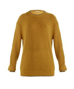 Christopher Kane | Contrast-Trim Round-Neck Sweater