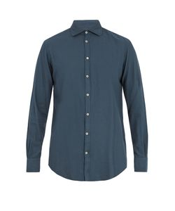 Massimo Alba | Cotton And Cashmere-Blend Shirt