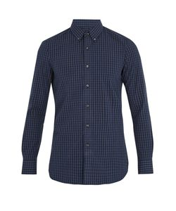 Boglioli | Single-Cuff Checked Cotton Shirt
