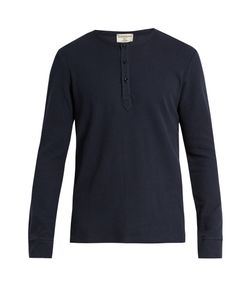 Éditions M.R | Long-Sleeved Waffle-Knit Cotton-Jersey T-Shirt