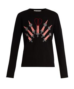Valentino | Love Blade Wool And Cashmere-Blend Sweater