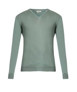 Éditions M.R | V-Neck Merino-Wool Sweater