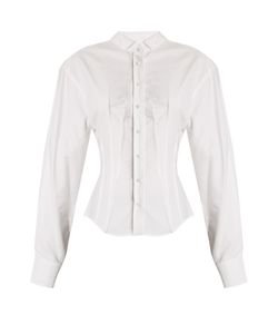 JACQUEMUS | Pintuck-Detail Cotton Shirt