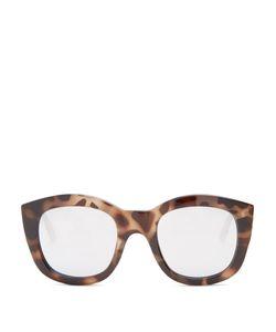Le Specs | Runaways Mirrored Round-Frame Sunglasses
