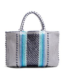 ANTONELLO TEDDE | Telti Chelu Striped Cotton Tote
