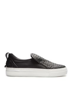 Buscemi | 40mm Weave Low-Top Leather Trainers