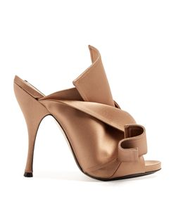 No. 21 | Bow-Front Satin Mules