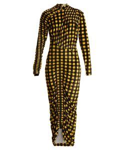 Preen By Thornton Bregazzi | Christy Gingham Velvet Dress