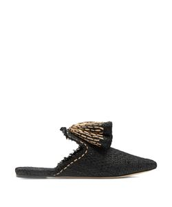 SANAYI 313 | Sanguarina Raffia Slipper Shoes