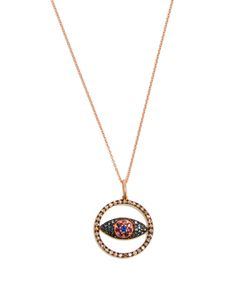 Ileana Makri | Diamond Sapphire Necklace
