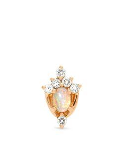 MARIA TASH   Diamond Opal Rose Earring