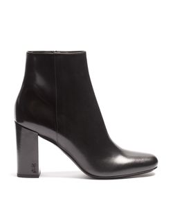 Saint Laurent | Loulou Leather Ankle Boots