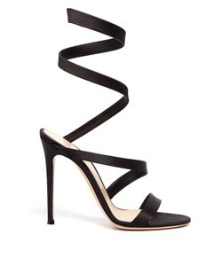 Gianvito Rossi | Wraparound Satin Sandals
