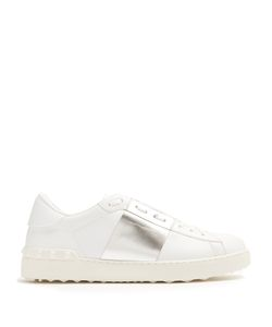 Valentino | Open Bi-Colour Low-Top Leather Trainers